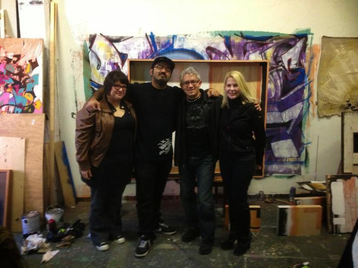 From left: Liz Mares, Mario Gonzalez Jr., Sergio Gomez, Ruth Crnkovich