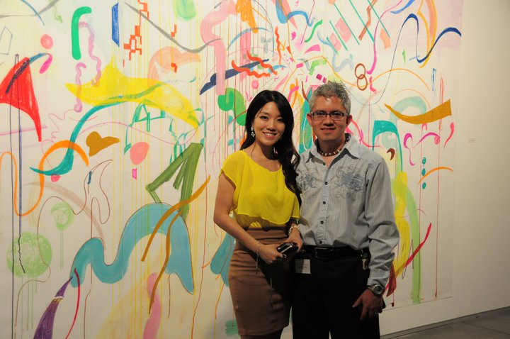 Sijia Chen & Sergio Gomez at the Zhou B Art Center