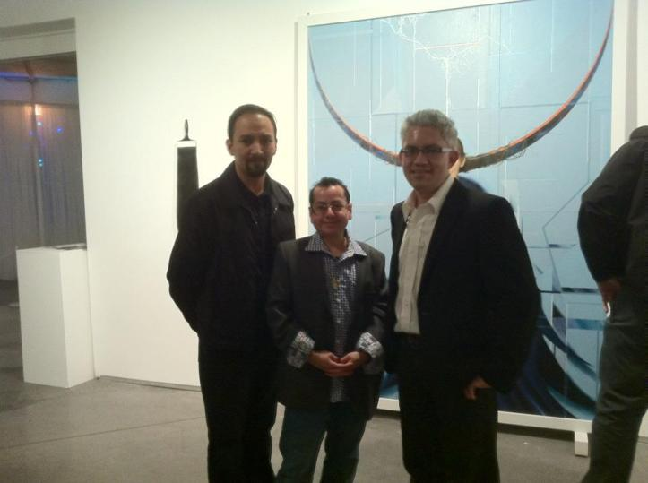 From left, Javier Chavira, Pedro Palacios and Sergio Gomez