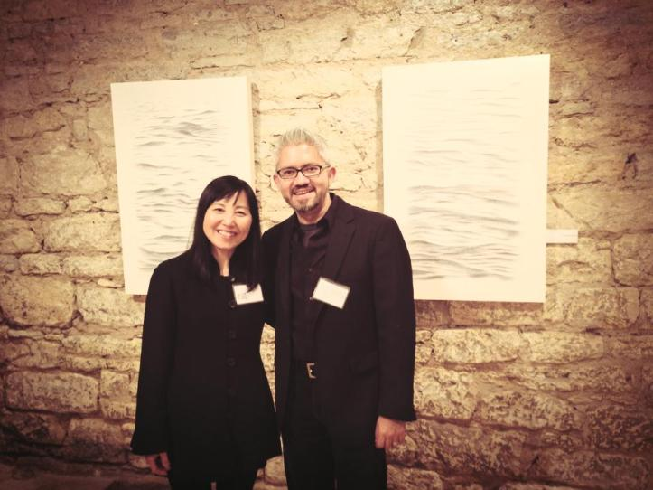 Joanne Aono and Sergio Gomez at Water Street Studios Gallery