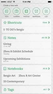 Use Evernote App to Manage Your Art Career (2/3)