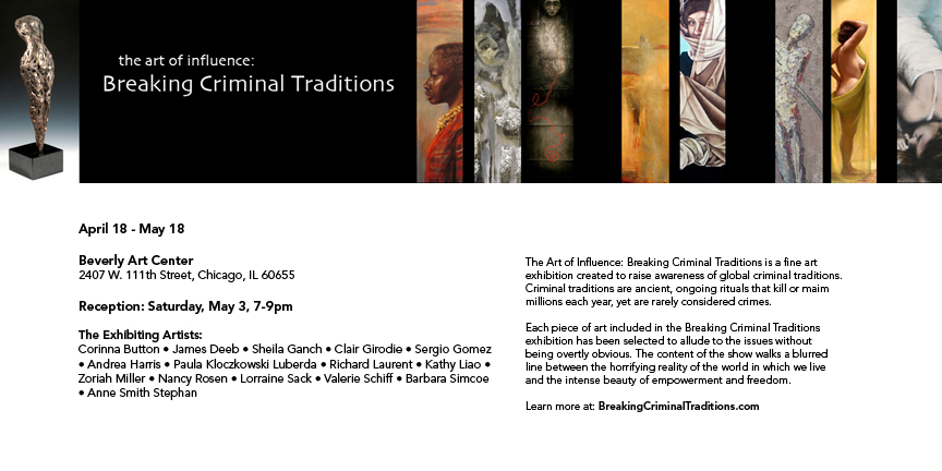 The Art of Influence Breaking Criminal Traditions Art Exhibit