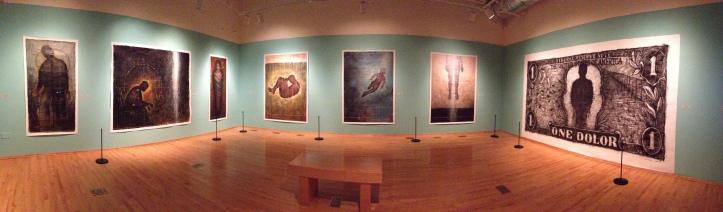 Puertas Abiertas / Open Doors. Sergio Gomez solo exhibition at the National Museum of Mexican Art, Chicago, 2013