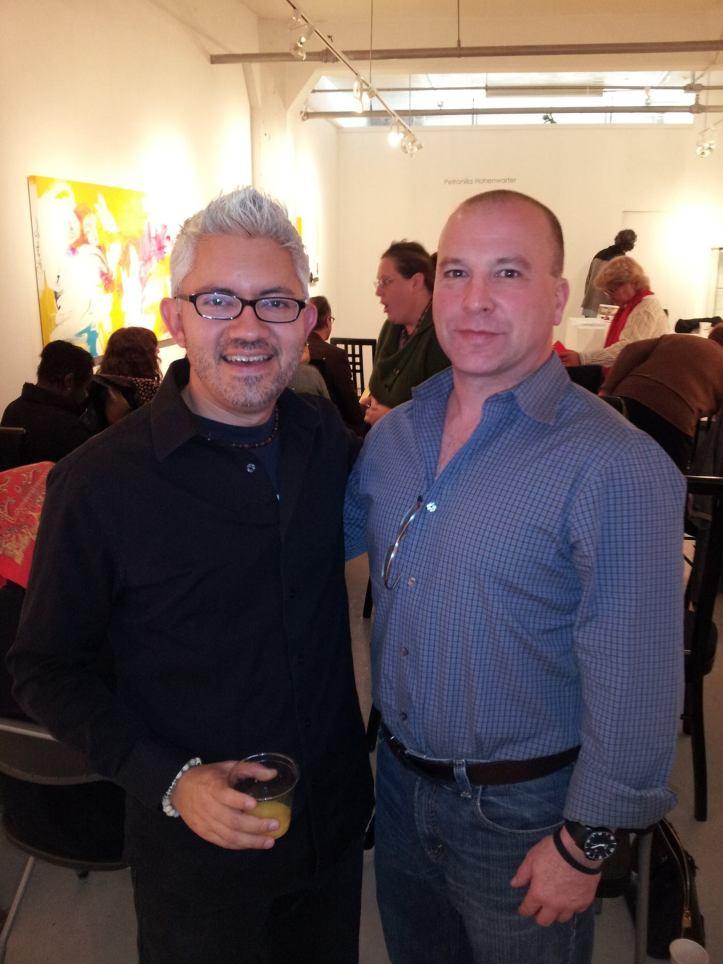 Sergio Gomez and Scott Jordan